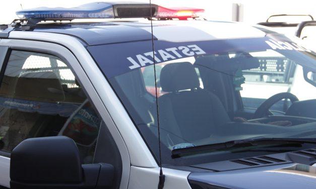 Policías estatales detienen a sujetos que portaban armas;   también detuvieron a un sujeto por robo