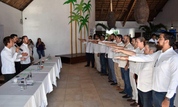 Toma de protesta de la Canirac Manzanillo