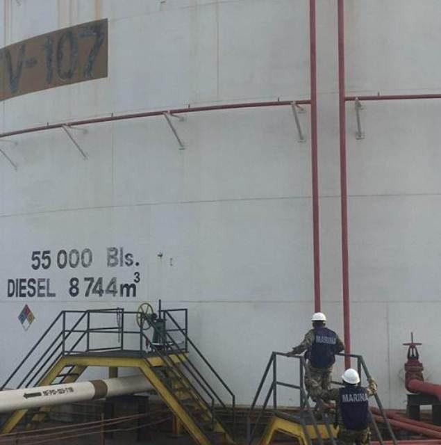 SEMAR mantendrá el control en accesos, cuarto de control y los  tanques de abastecimiento en instalaciones de PEMEX en Manzanillo