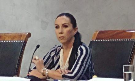 """Se justifica Claudia Aguirre por no asistir a la reunión de CIAPACOV; """"estaba trabajando en mi distrito"""""""