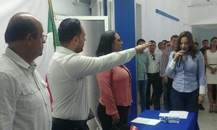 Alejandro García toma protesta como Presidente del PAN en Colima