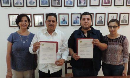 Firma CDHEC convenio con asociación defensora de los derechos de la mujer