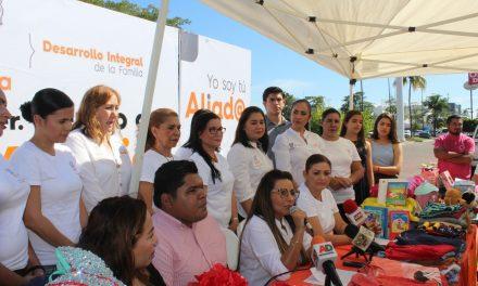 Lo que se recolecte en el primer Centro de Acopio, beneficiarán a adultos mayores y a familias en extrema vulnerabilidad