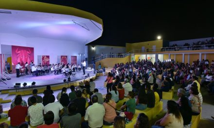 Bandas Infantil y la Juvenil de Cultura se presentaron en Festejos de Villa de Álvarez