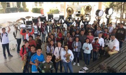 Representan a Colima en curso taller de Marching Band en Puebla