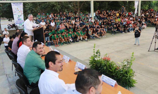 Inauguran Encuentro Regional Deportivo y Cultural de Universidades Tecnológicas