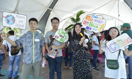 Dan bienvenida a estudiantes  extranjeros de 22 países