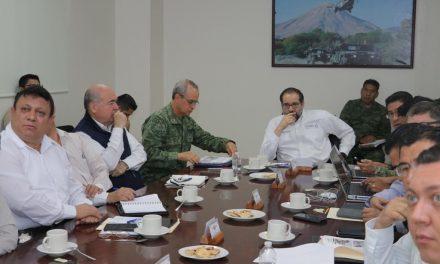 Encabeza Gobernador reunión del Grupo de Coordinación Estatal para la Construcción de la Paz
