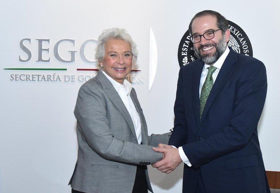 Gobernador presenta a  SEGOB Agenda Colima