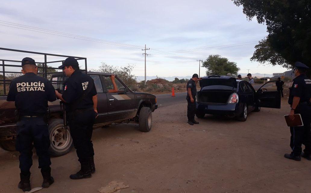 Detienen a seis con droga; recuperan una camioneta pick up y un tractocamión