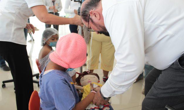 Conmemoran en Colima el Día de Lucha contra el Cáncer Infantil