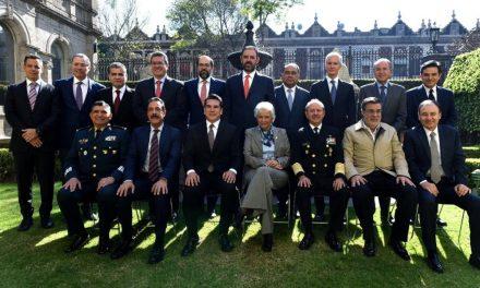 GOBERNADORES DEL PRI APOYAN LA CREACIÓN DE LA GUARDIA NACIONAL
