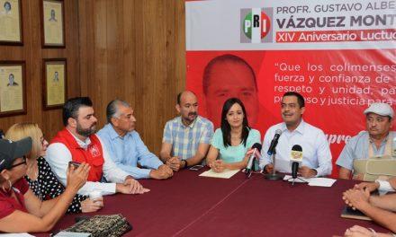 """Anuncia PRI homenaje a """"nuestro siempre Gobernador"""", por el XIV aniversario luctuoso de Gustavo Vázquez"""