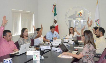 Sesiona el Consejo del IEEC para cumplimentar sentencia de la sala regional del TEPJF