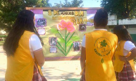 """Conmemora Bachillerato 15 """"Día Internacional de la Mujer"""""""