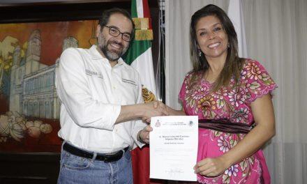 Mara Iñiguez, asume la titularidad como Secretaria de Turismo del Estado