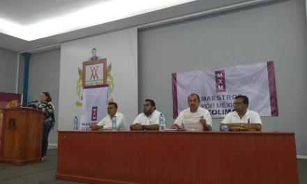Toma de protesta a la coordinación estatal de MxM Colima.