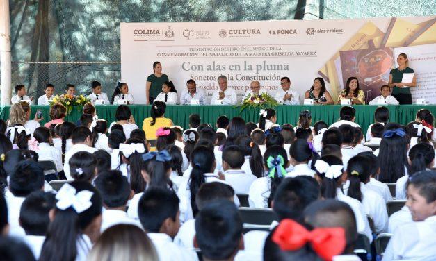 Presenta Gobierno de Colima libro en homenaje a Griselda Álvarez