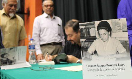 Presenta Secretaría de Cultura monografía de Griselda Álvarez