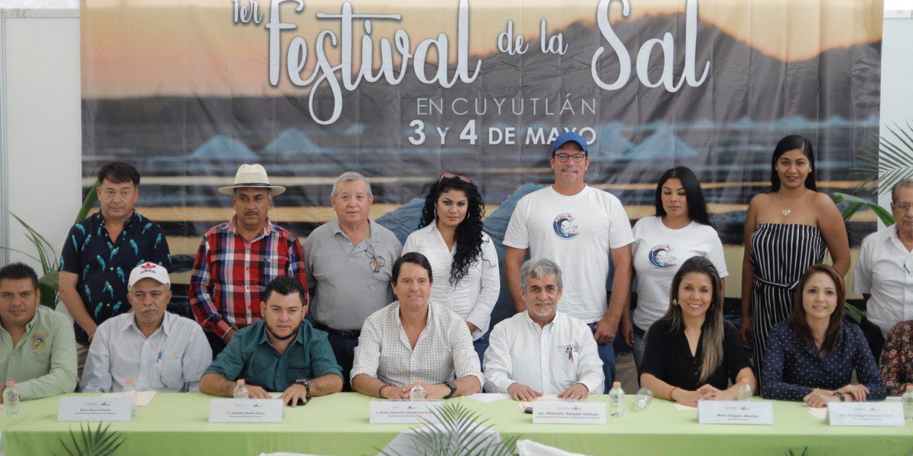 Gobierno del Estado anuncia el Festival de la Sal en Cuyutlán