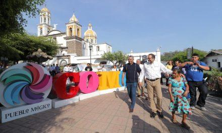 Realizó Gobernador,  recorrido por los puestos de  la Feria del Ponche, Pan y Café 2019