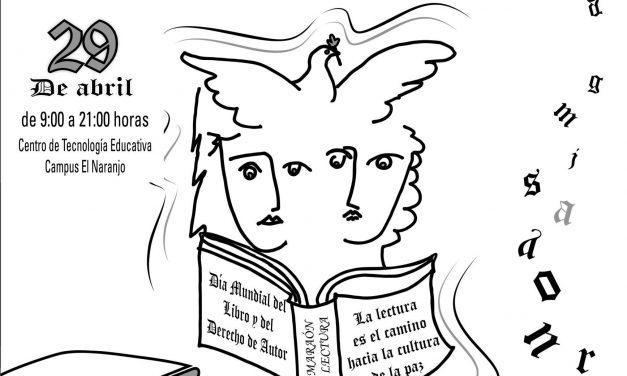 Para celebrar el Día Mundial del Libro, invitan al Maratón de Lectura en Voz Alta