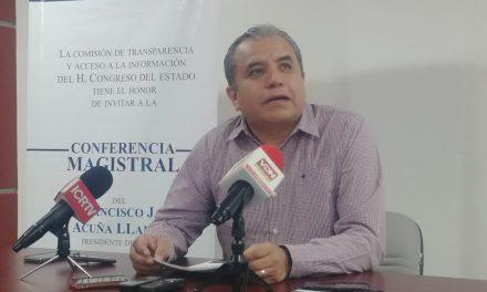 INFOCOL limitado en materia de recursos para vigilar las páginas de transparencia: Paco Rodríguez