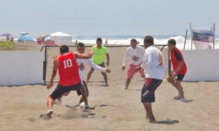 Previene Gobierno del Estado adicciones con Torneo de Street Soccer Playero