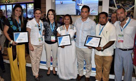 Recibe Colima reconocimiento en Tianguis Turístico