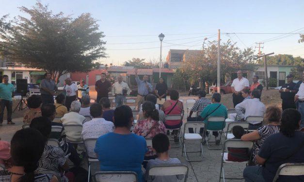 Felipe Cruz Visita Escuela de Talentos; hizo recorrido por Real de Minas
