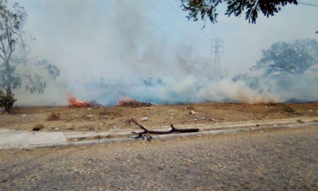 Preocupante el número de incendios que ha habido en Villa de Álvarez: alcalde
