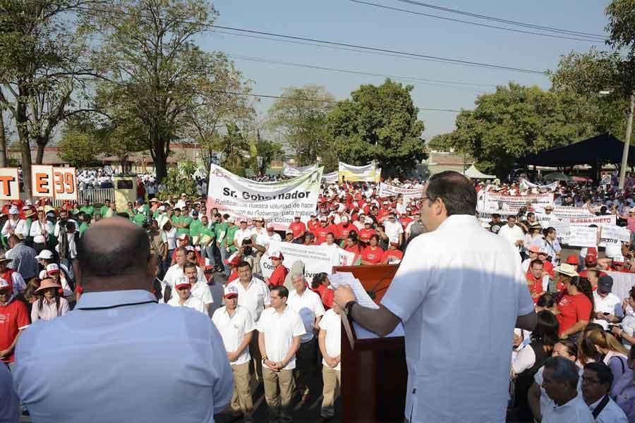 Esperan una participación de más de 12 mil trabajadores en la marcha obrera: CTM