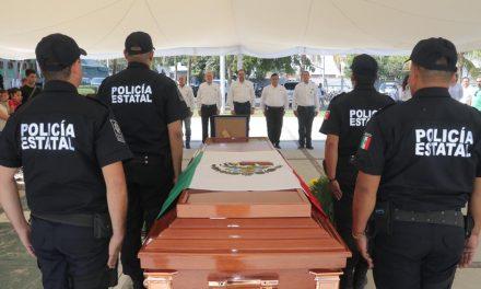 Reitera Gobernador reconocimiento a los integrantes de las fuerzas de seguridad