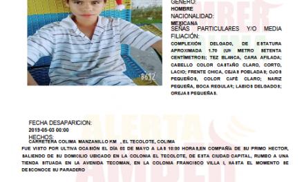 Desde el viernes están desaparecidos dos primos de la colonia El Tecolote, al sur de la ciudad de Colima