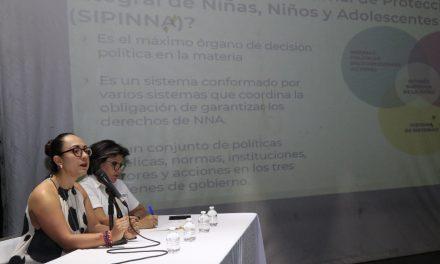 Importante sensibilizar a medios de comunicación en la protección de la niñez: Valeria Berume