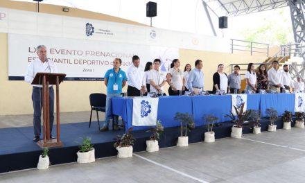 Arranque del Pre Nacional Estudiantil Deportivos del Tecnológico Nacional de México