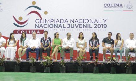 Dan la bienvenida Gobernador y Ana Guevara a competidores de la Olimpiada Nacional
