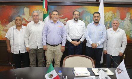 Se reunió la dirigencia sindical de la Sección 39, con el gobernador del estado