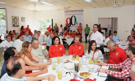 México requiere de Priistas comprometidos por la construcción del país: JIPS