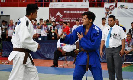 Logra colimense medalla de plata en el judo de la Olimpiada Nacional