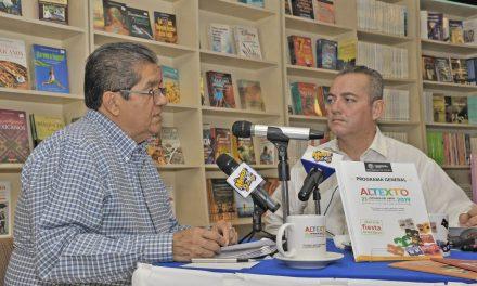Promueve rector actividades de Altexto 2019