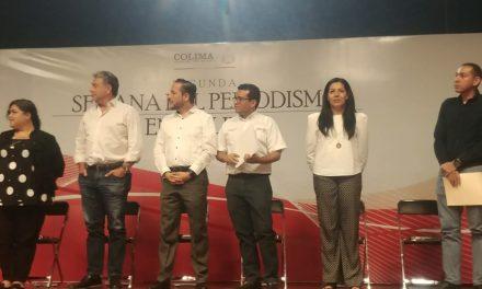Jesús Murguía Rubio, recibe reconocimiento del gobierno estatal por su trayectoria periodística