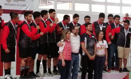 Preside JIPS ceremonia de premiación en la disciplina de Handball; Colima se lleva el bronce