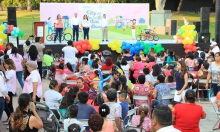 Gobierno del Estado inicia festejos por el Día del Niño, la Niña y la Madre