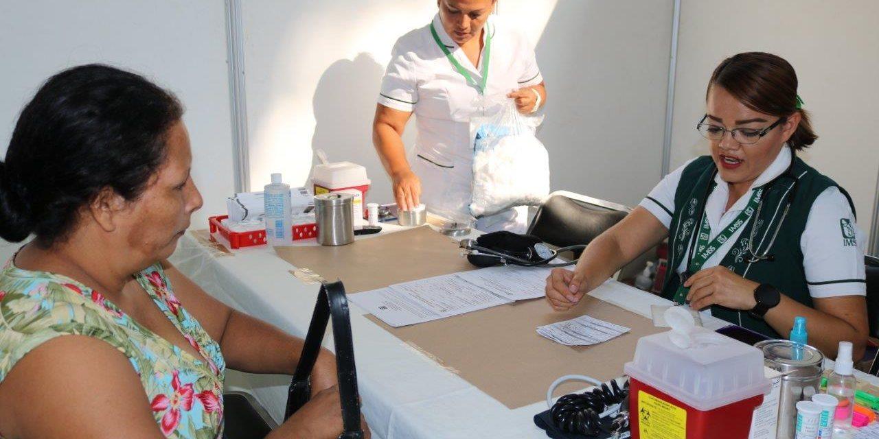 MÁS DE MIL 250 TRABAJADORES Y SUS FAMILIAS, BENEFICIADOS POR FERIA DE LA SALUD