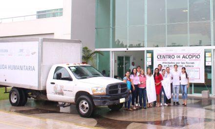 Envía Gobierno del Estado 3 toneladas de apoyo a afectados de San Gabriel, Jalisco