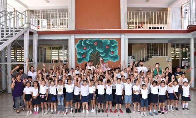 Se benefician a más de 4 mil niños y niñas con el programa la Ciencia en tu Escuela