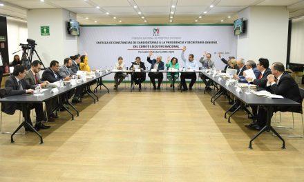 REALIZARÁ EL PRI EMISIÓN DE DICTÁMENES Y ENTREGA DE CONSTANCIAS A CANDIDATOS DE ELECCIÓN INTERNA