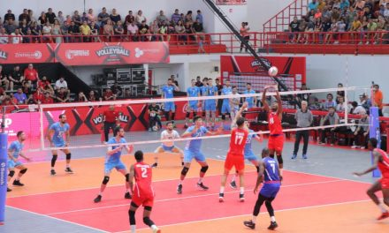 Inaugura Gobernador Copa Panamericana  de Voleibol Varonil 2019