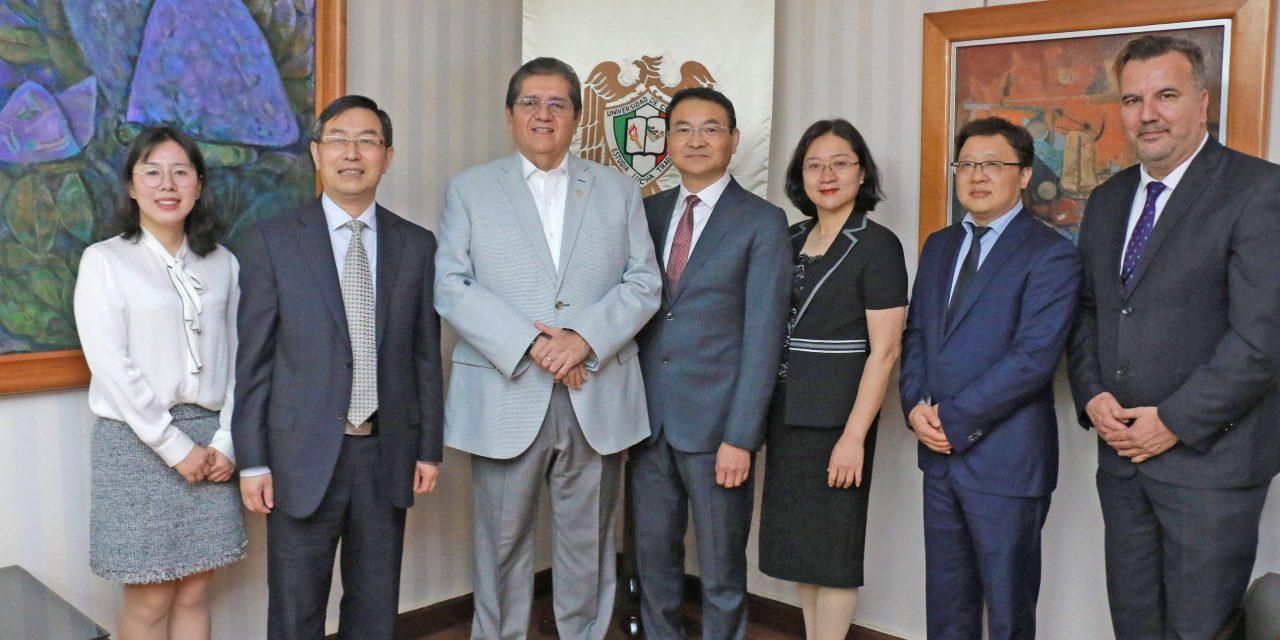 Firman memorándum de entendimiento universidades de Changzhou y Colima